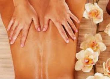 Massage dos post accouchement